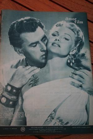 Stewart Granger Rita Hayworth (Back Cover)