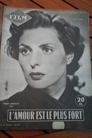 Photo Roman Dedicated to Ingrid Bergman G. Sanders