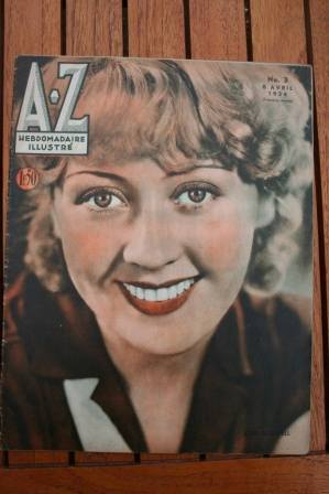 Joan Blondell On Front Cover