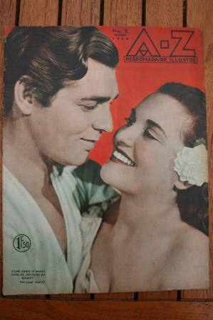 Clark Gable Bounty On Front Cover