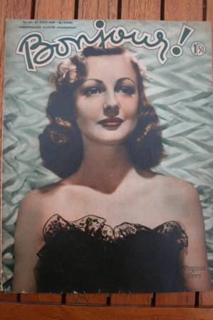Virginia Grey On Front Cover