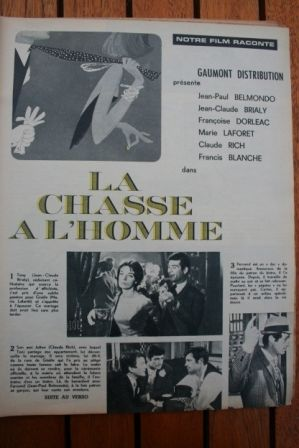 Francoise Dorleac Jean Paul Belmondo Marie Laforet