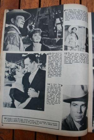 John Wayne Claudia Cardinale Rita Hayworth