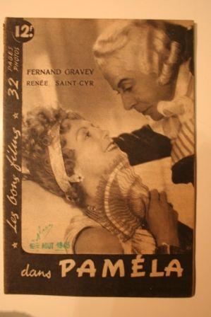 Fernand Gravey Renee Saint-Cyr Georges Marchal
