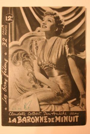 Claudette Colbert Don Ameche John Barrymore