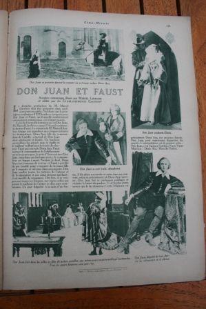 Don Juan et Faust Jaque Catelain Vanni Marcoux