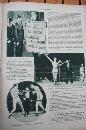 Jim Bougne, boxeur