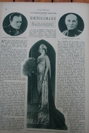 Maurice Lehmann Huguette Duflos Jaque Catelain