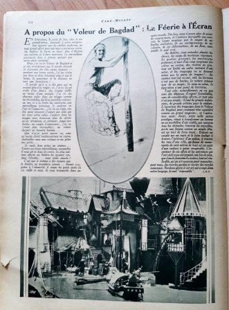 Douglas Fairbanks The Thief of Bagdad