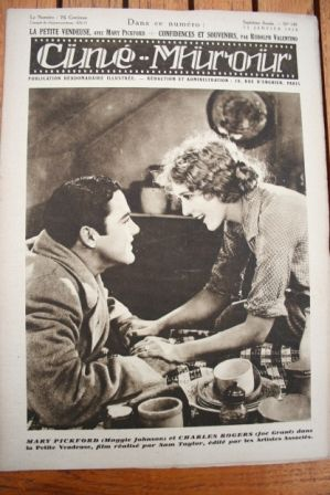 Mary Pickford Charles Rogers