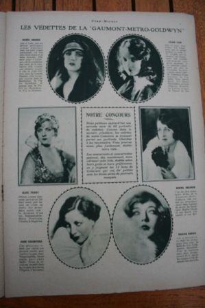 Lillian Gish Norma Shearer Joan Crawford