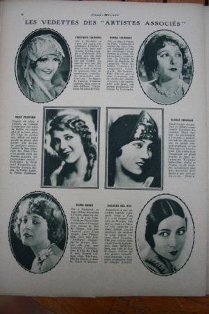 Constance Norma Talmadge Mary Pickford Dolores Del Rio