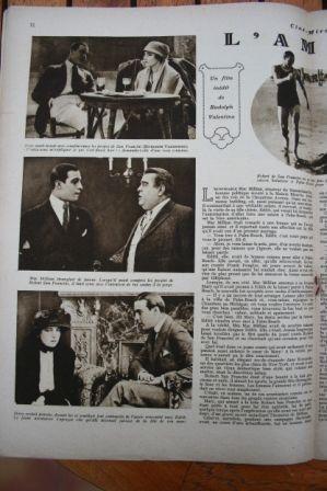 Rudolph Valentino Vera Sisson Edward Jobson