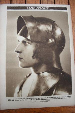 Simone Genevois Joan Of Arc