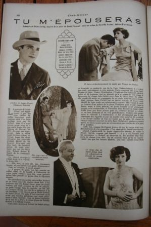 Clara Bow Charles Rogers Josef Swickard