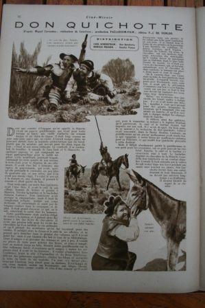 Carl Schenstrom Harald Madsen Don Quixote