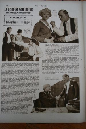 Lon Chaney Betty Compson James Murray