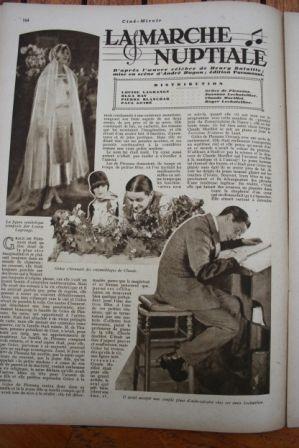 Pierre Blanchar Louise Lagrange Olga Day