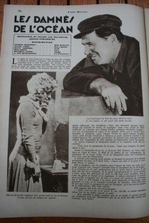 George Bancroft Betty Compson Olga Baclanova