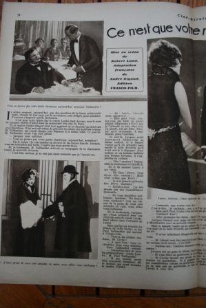 Marlene Dietrich Harry Liedtke Pierre de Guingand