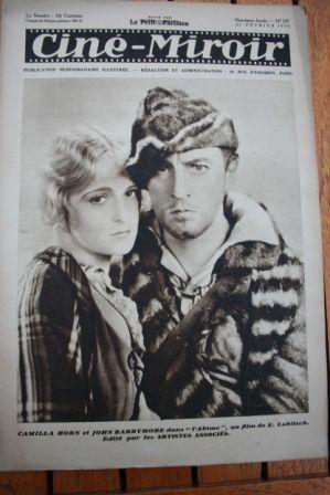 Camilla Horn John Barrymore