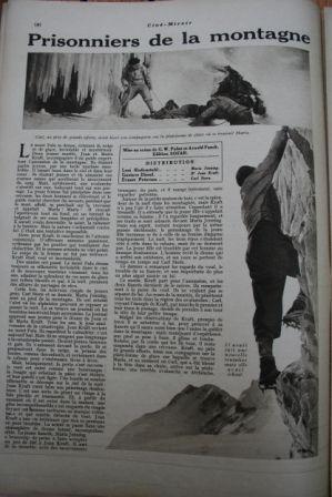 Leni Riefenstahl Gustav Diessl Ernst Petersen