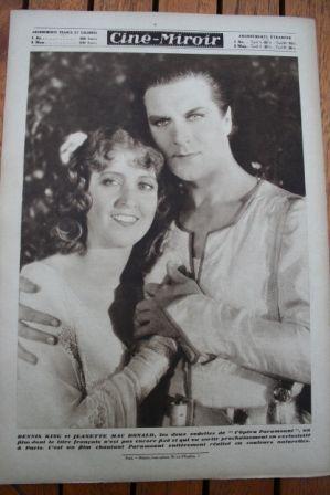 Dennis King Jeanette MacDonald