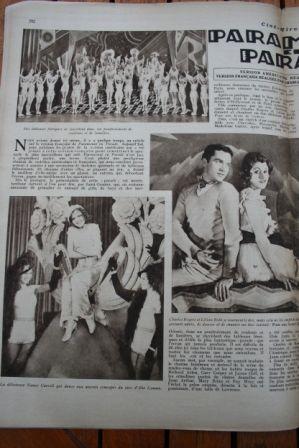 Maurice Chevalier Richard Arlen Nancy Carroll