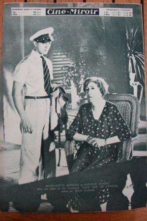 Enrique Rivero Marguerite Moreno
