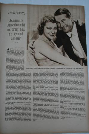 Jeanette Mac Donald Maurice Chevalier