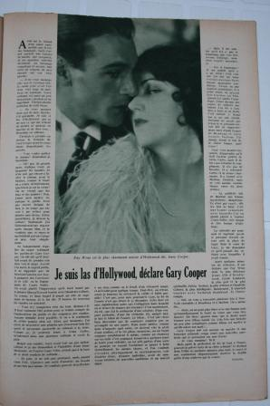 Fay Wray Gary Cooper