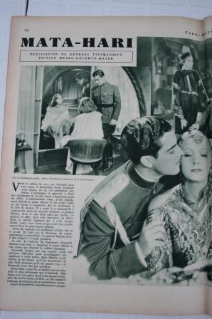 Greta Garbo Ramon Novarro Mata Hari