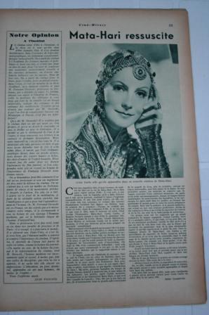Greta Garbo Mata Hari