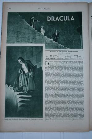 Dracula Bela Lugosi - Tod Browning