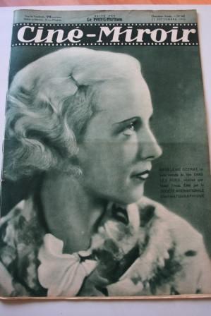 Cine Miroir 1933 #442 September 22, 1933