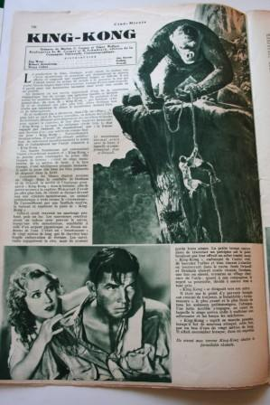 King Kong Fay Wray Bruce Cabot Schoedsack Cooper