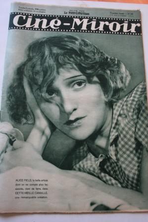 Cine Miroir 1933 #445 October 13, 1933