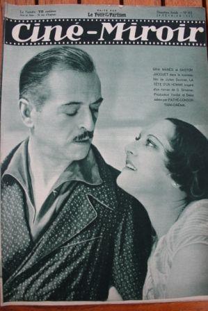 Gina Manes Gaston Jacquet