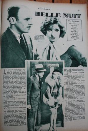Lili Damita Cary Grant Charles Ruggles