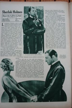 Clive Brook Ernest Torrence Sherlock Holmes