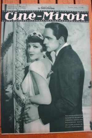 Claudette Colbert Fredric March