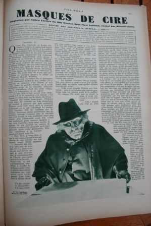 Lionel Atwill Fay Wray Mystery of the Wax Museum