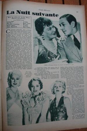 George Raft Mae West Constance Cummings