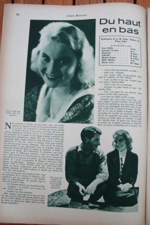 Jean Gabin Janine Crispin Pauline Carton