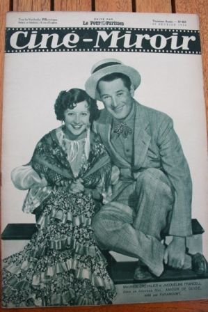 Maurice Chevalier Jacqueline Francell