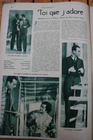 Jean Murat Edwige Feuillere Violaine Barry