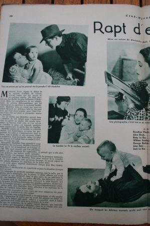 Dorothea Wieck Alice Brady Baby LeRoy