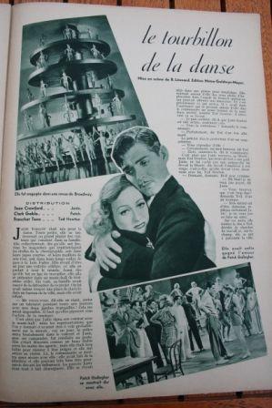 Joan Crawford Clark Gable Franchot Tone