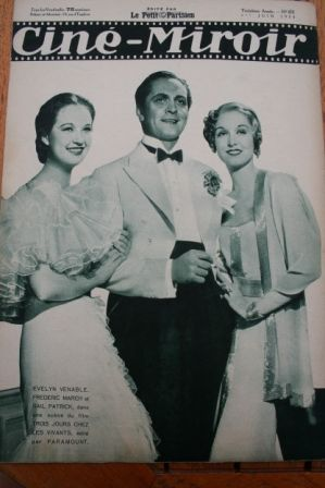 Gail Patrick Fredric March Evelyn Venable