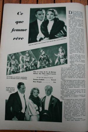 Peter Lorre Nora Gregor Gustav Frohlich